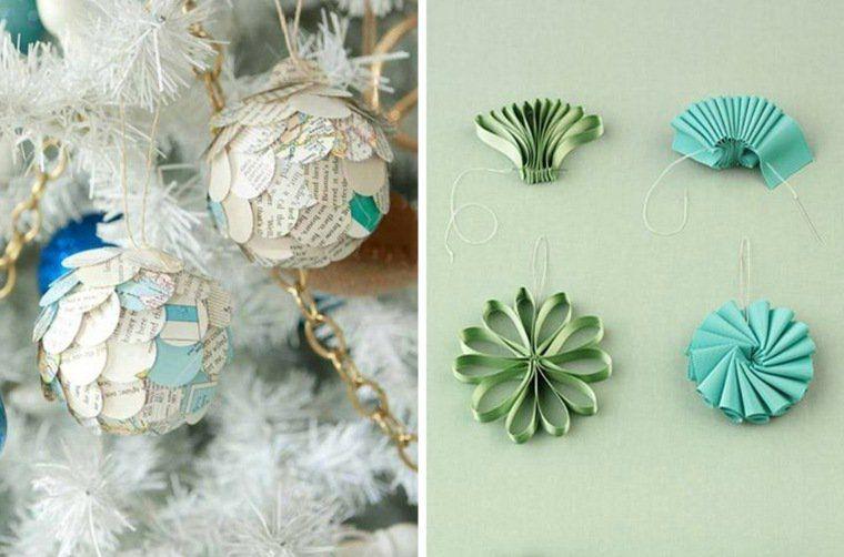 idées de décorations de Noël DIY en papier