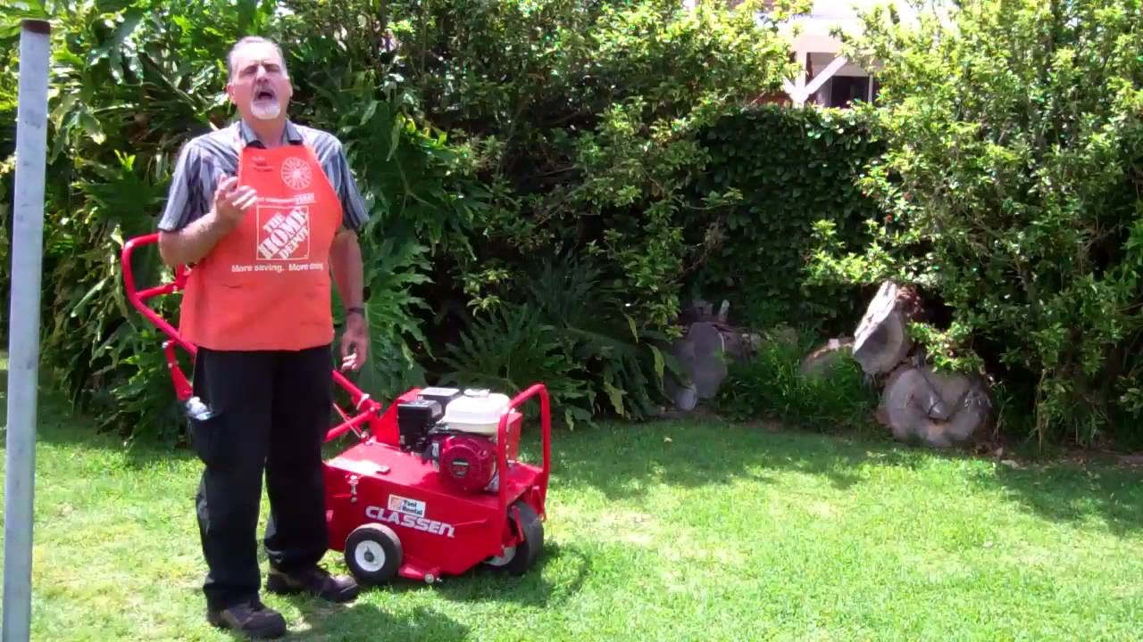 How to aerate your lawn the home depot summer lawn