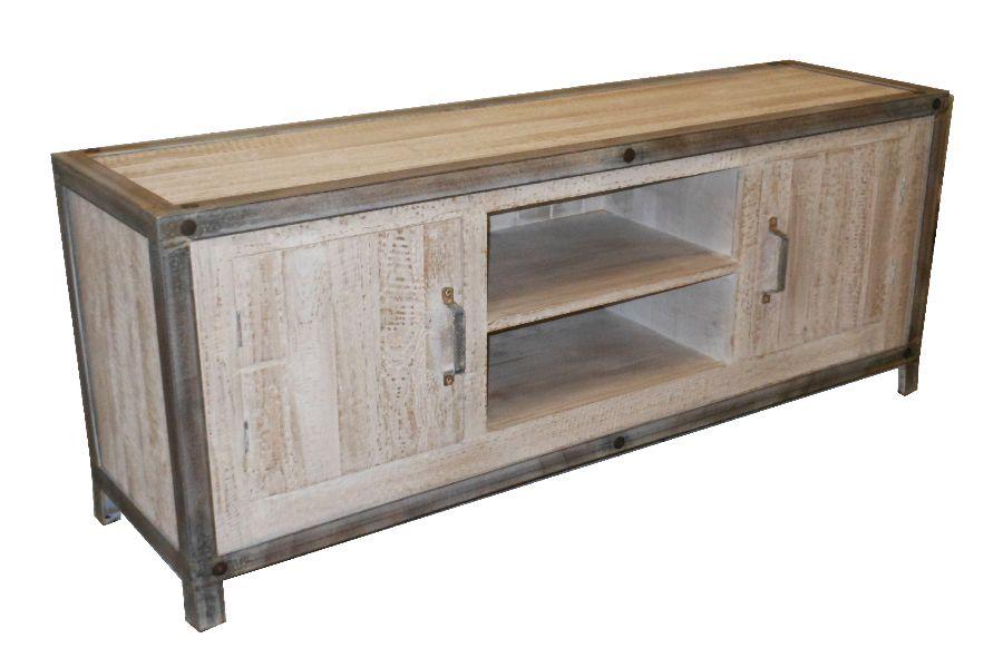 Meuble tv palette promotion mobilier de jardin meubles - Meuble en fer forge pas cher ...