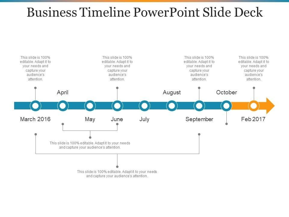 timeline for powerpoint five mind numbing facts about in slide