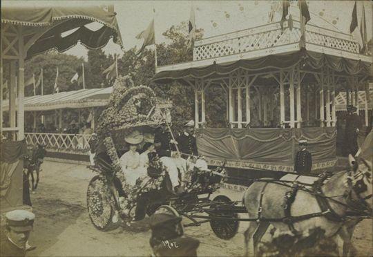 Augusto Malta.Batalha das Flores, 1902. Rio de Janeiro, RJ / Acervo FBN