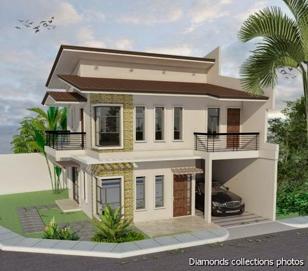 A Two-Storey, 2-Bedroom Home Fitting In A 75-Square Meter (7.5