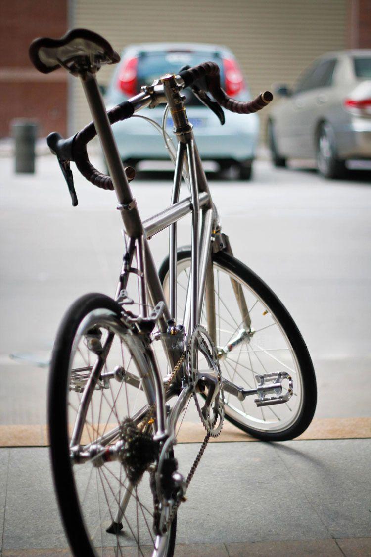 titanium 451 minivelo bike frame 20 inch small wheel vintage look not foldabe ebay