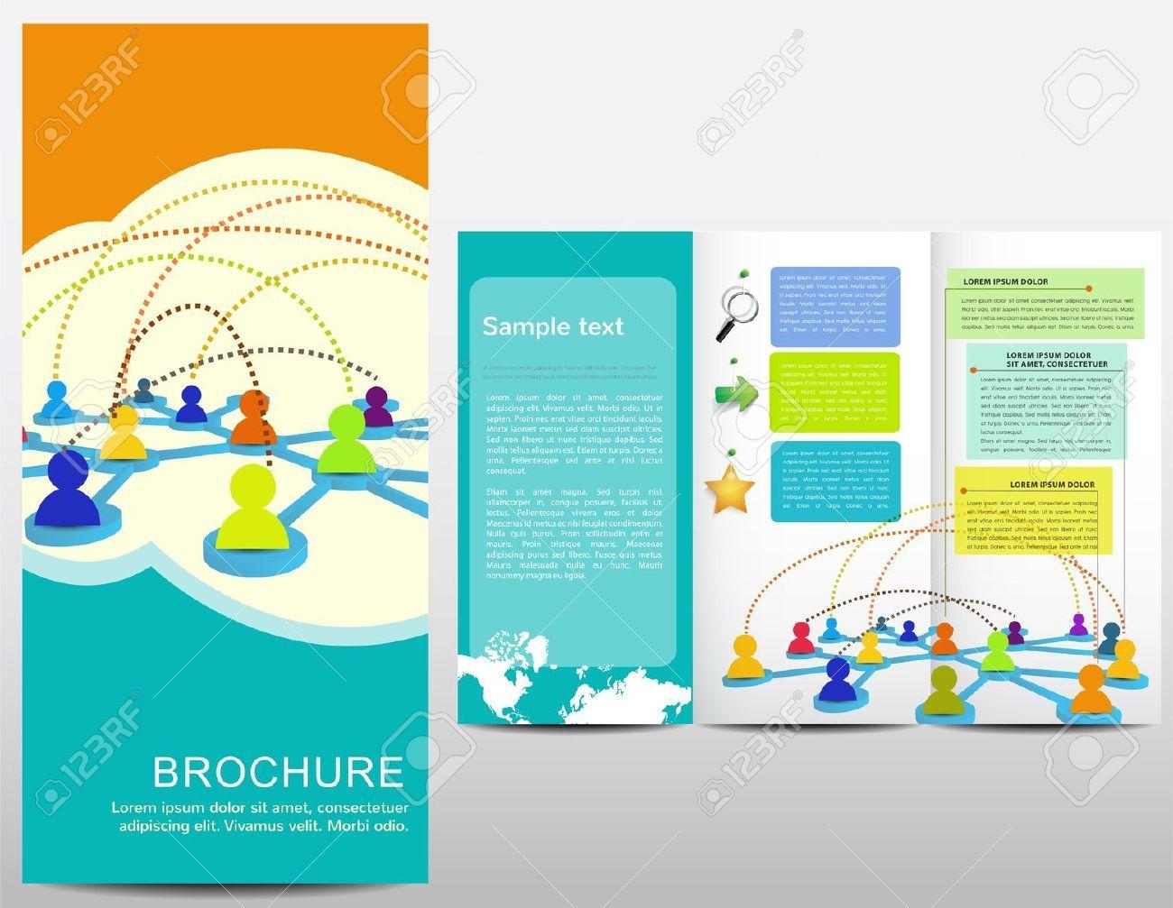 Awesome Marketing Brochure Templates Set Marketing Strategies - Marketing brochures templates