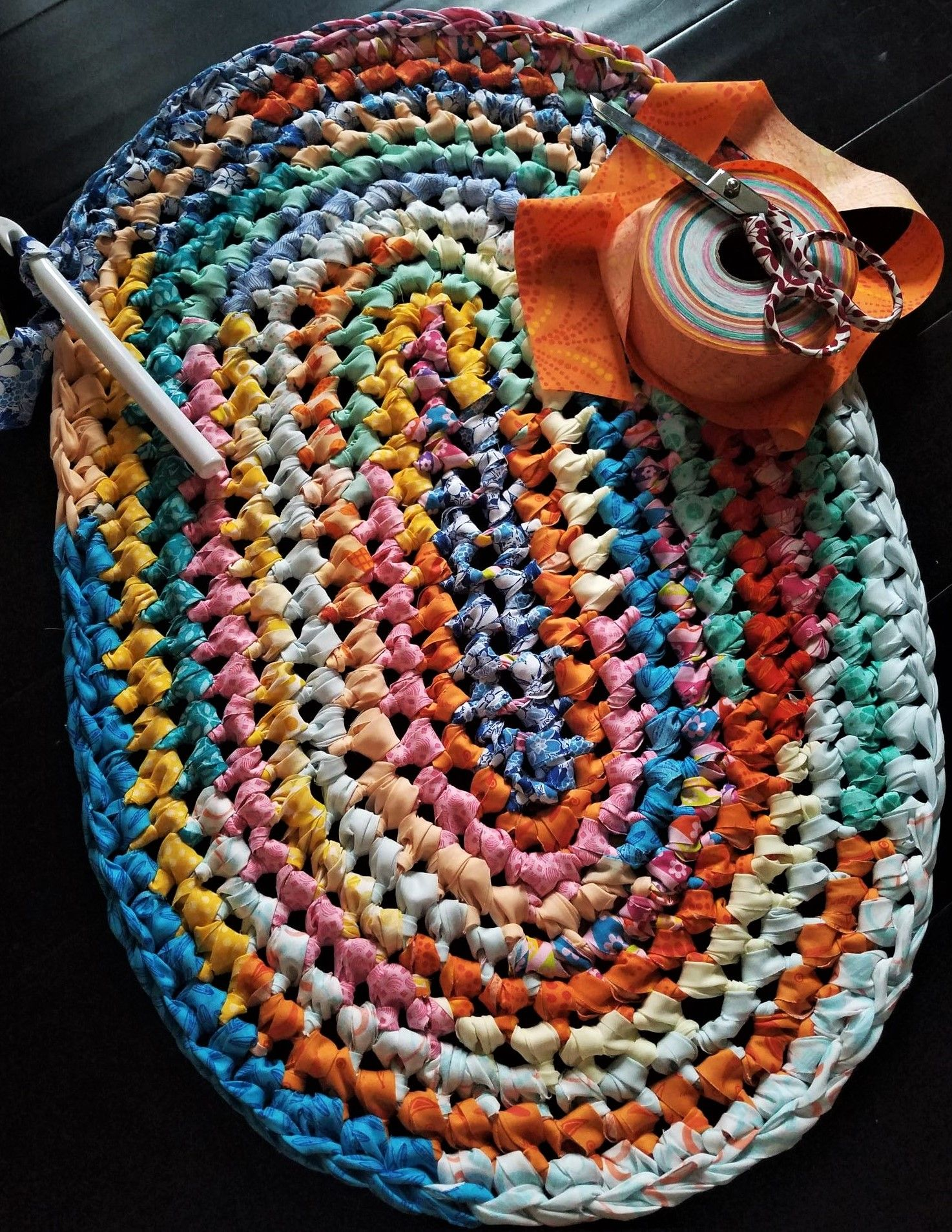 Rag Rug Fabric Bundles Fabric Strips Rags To Rugs By Lora Rag Rug Diy Braided Rug Diy Crochet Rag Rug