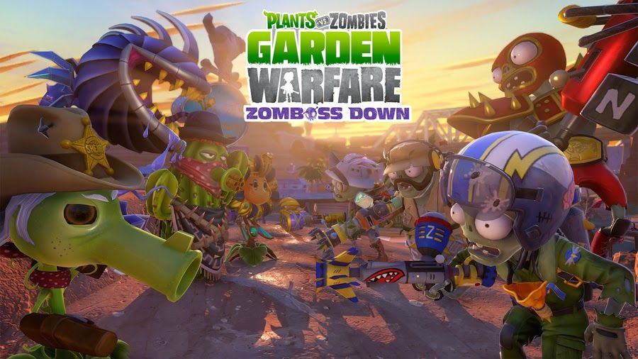 Plants Vs Zombies Garden Warfare Zomboss Down Dlc Trailer Risenfallrec Plants Vs Zombies Plant Zombie Zombie