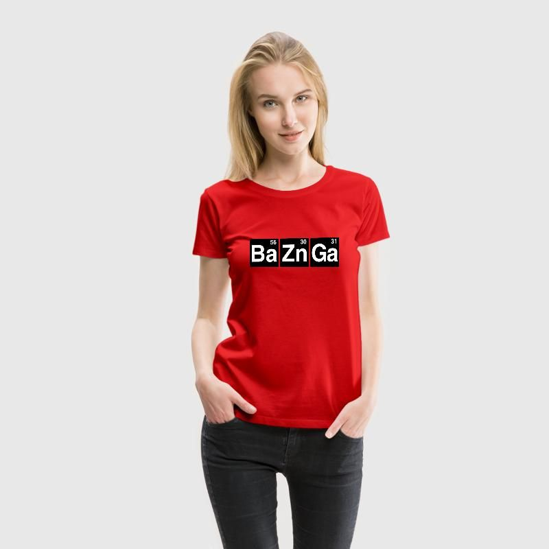 Ba56 Zn30 Ga31 T-Shirts - Women's Premium T-Shirt
