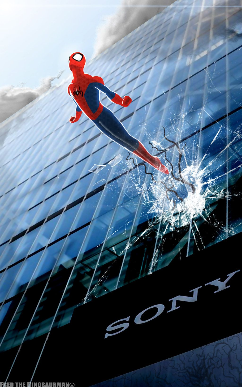 Spidey Has Returned - Sony and Marvel Make Deal by Fred The Dinosaur Man