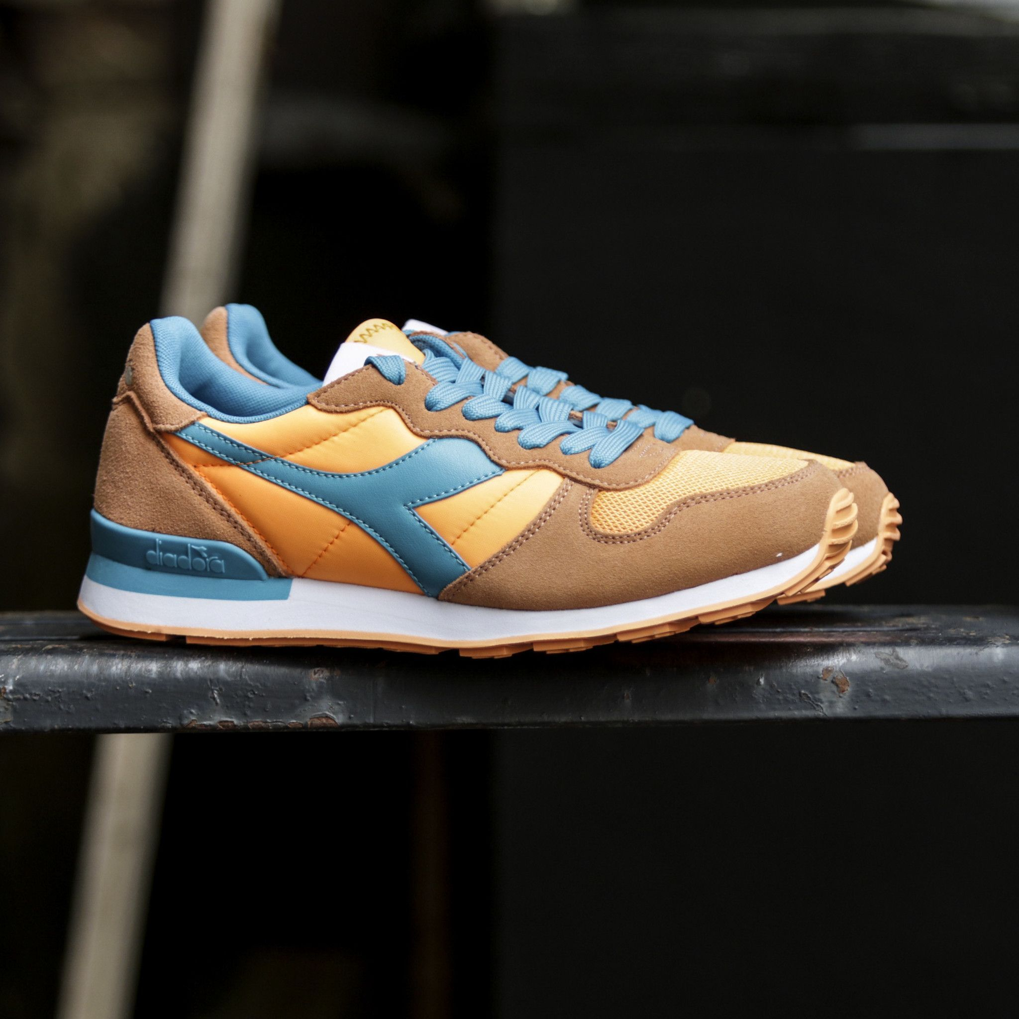 Diadora Camaro Orange Fluorescent Cyan Blue | Products