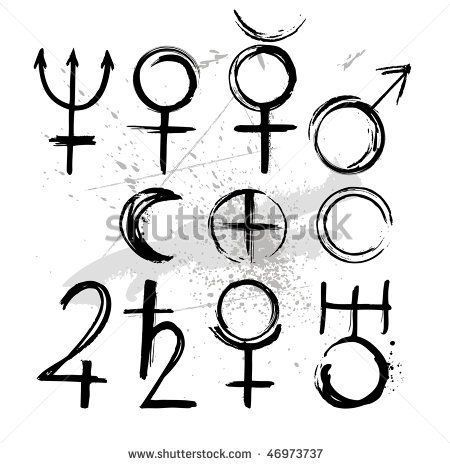 Moon Venus Symbol Tattoo (page 5) - Pics about space | Ink ...