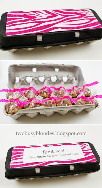 Teacher appreciation ideas its not how much we give but how much recycling egg cartons to make a cute homemade teacher appreciationthank you gift negle Images