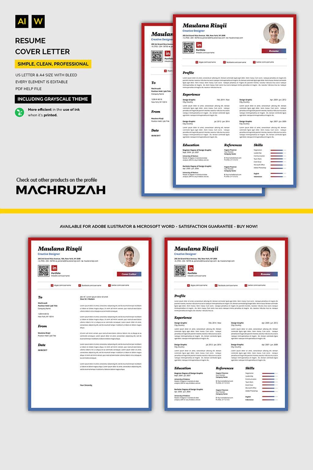 Professional Resume Template New Website Templates Pinterest