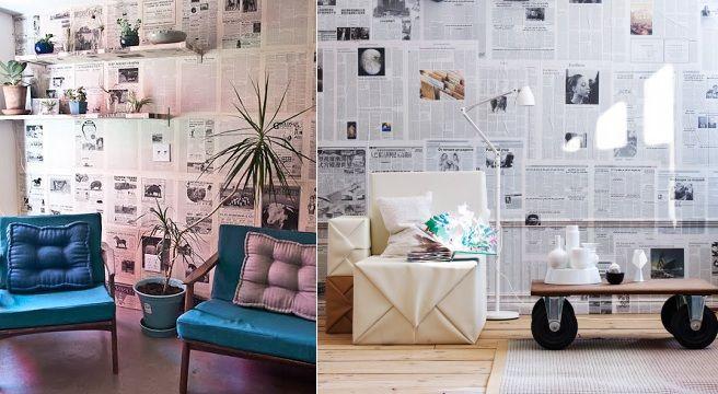 Decora Las Paredes Con Papel De Periódico Gallery Wall Home Decor Decor