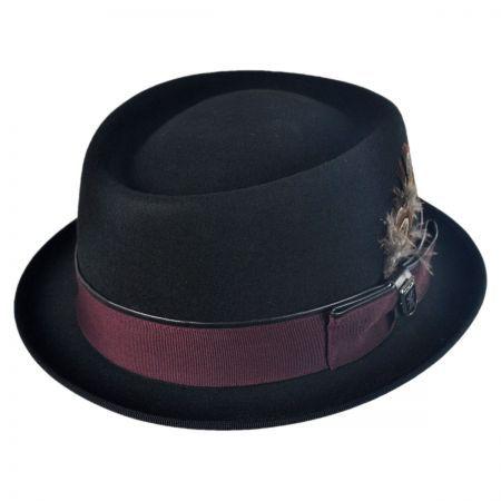 Crushable Pork Pie Hat available at  VillageHatShop  216b20928b9