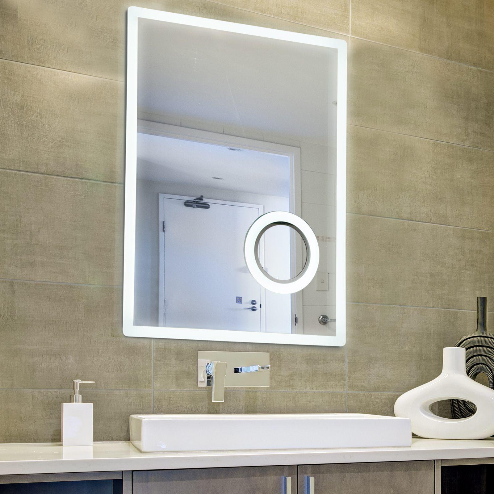 11 Led Badspiegel Mit Schminkspiegel Badezimmerspiegel Beleuchtung