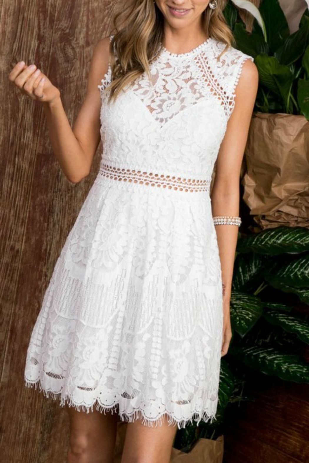 Lace Flare Dress White Lace Dress Short Lace White Dress Lace Summer Dresses [ 1575 x 1050 Pixel ]