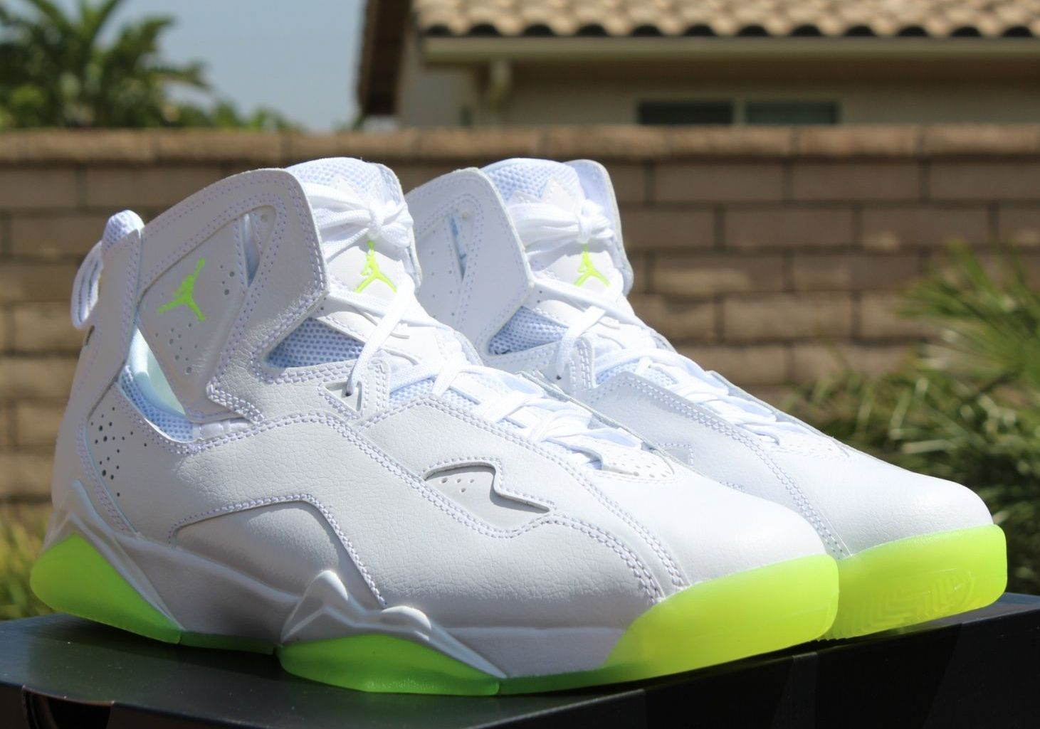 huge discount 3afed 753c2 Jordan True Flight- White   Volt Ice