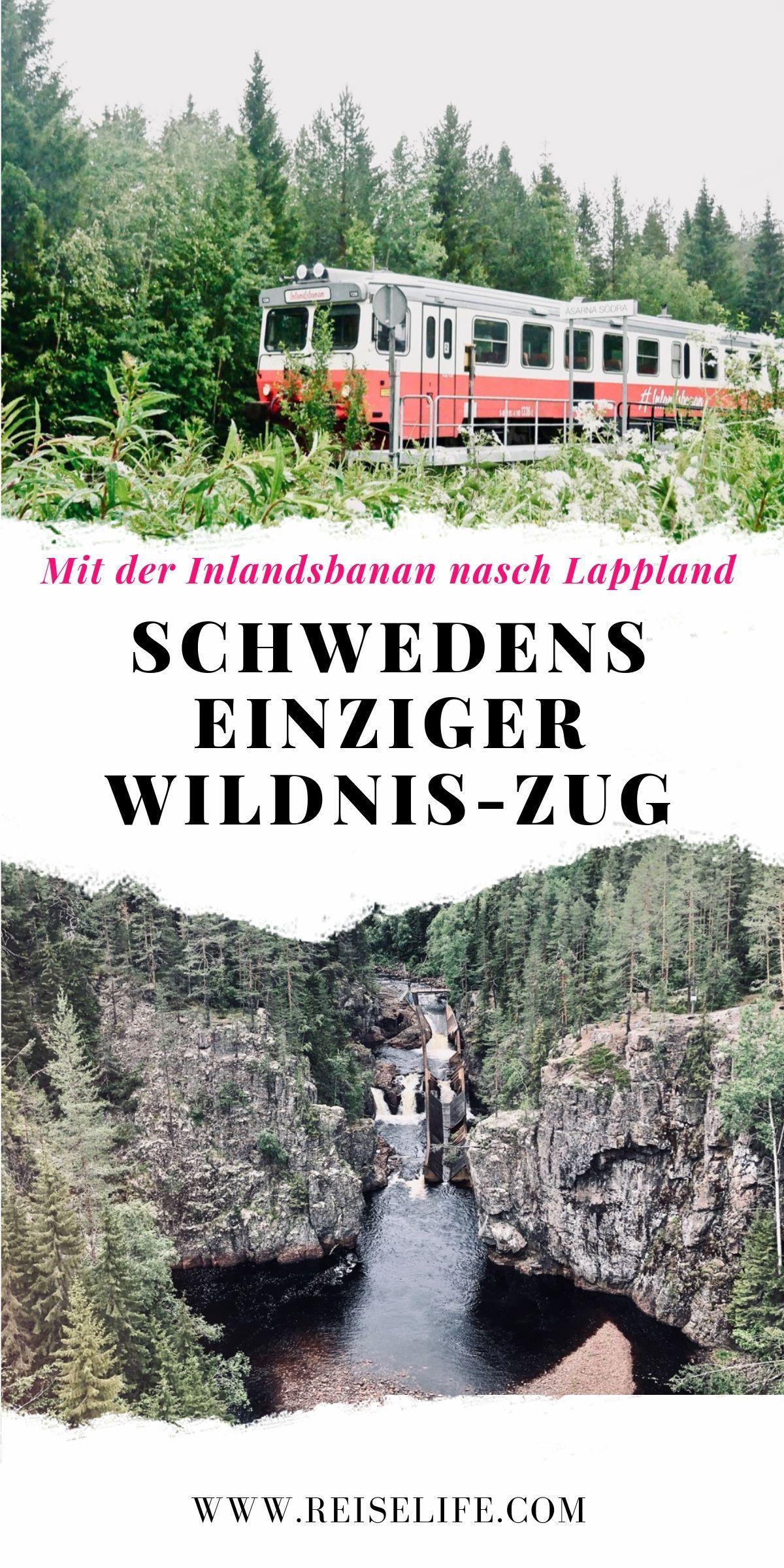 Nächster Stopp Polarkreis - Mit dem Wildnis-Zug Schweden entdecken! #aroundtheworldtrips