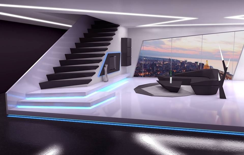 incredible living room luxury penthouse get lot Pinterest