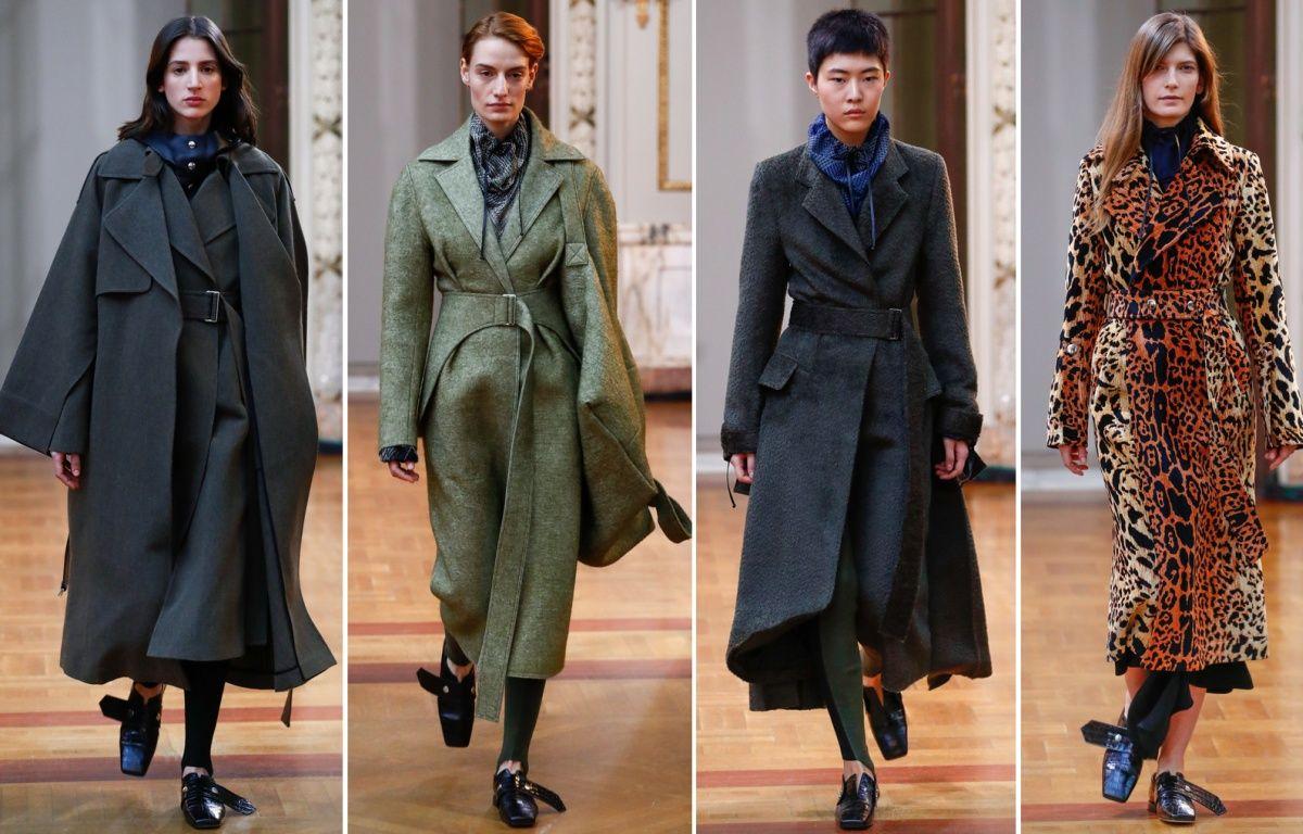 70005d6821b Модные пальто осень-зима 2018-2019  трендовые модели