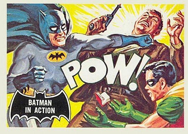 vintage batman card
