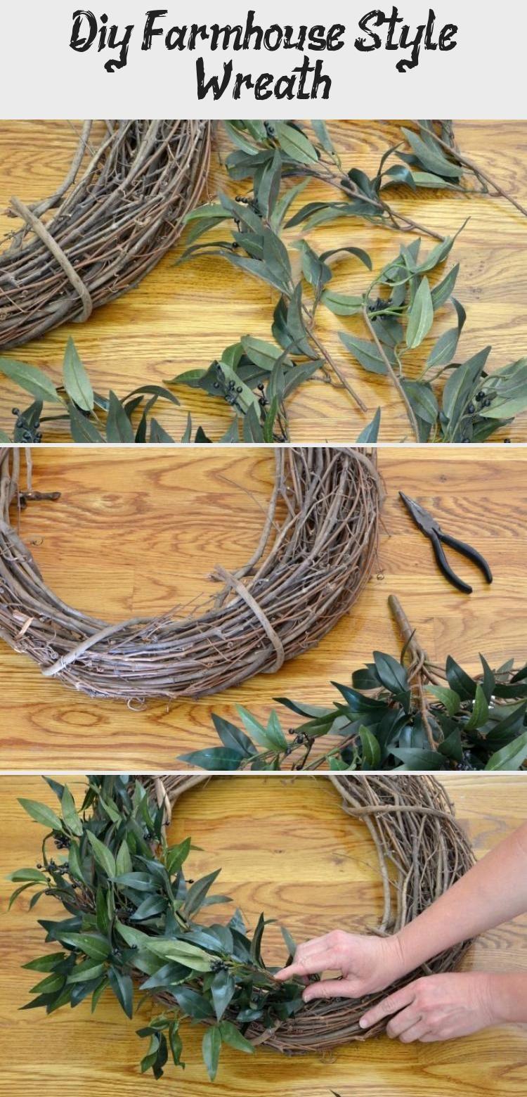 Photo of Diy Farmhouse Style Wreath – Best Diy