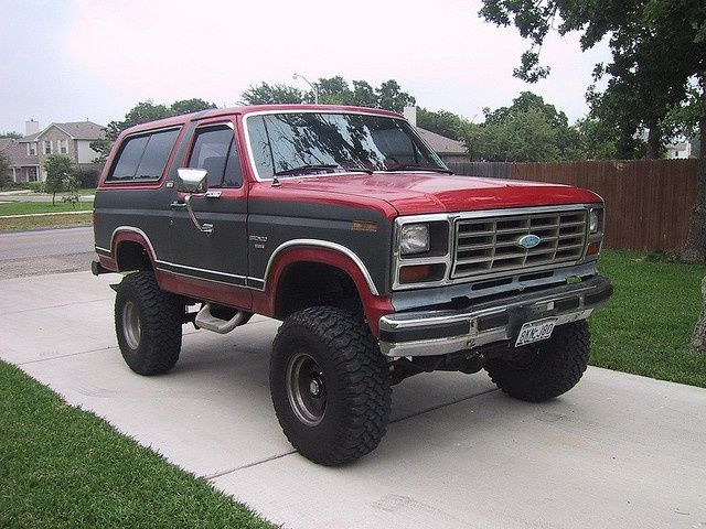 1982 Ford Bronco Needs A Little Bit Of Mud Though Lifted Truck