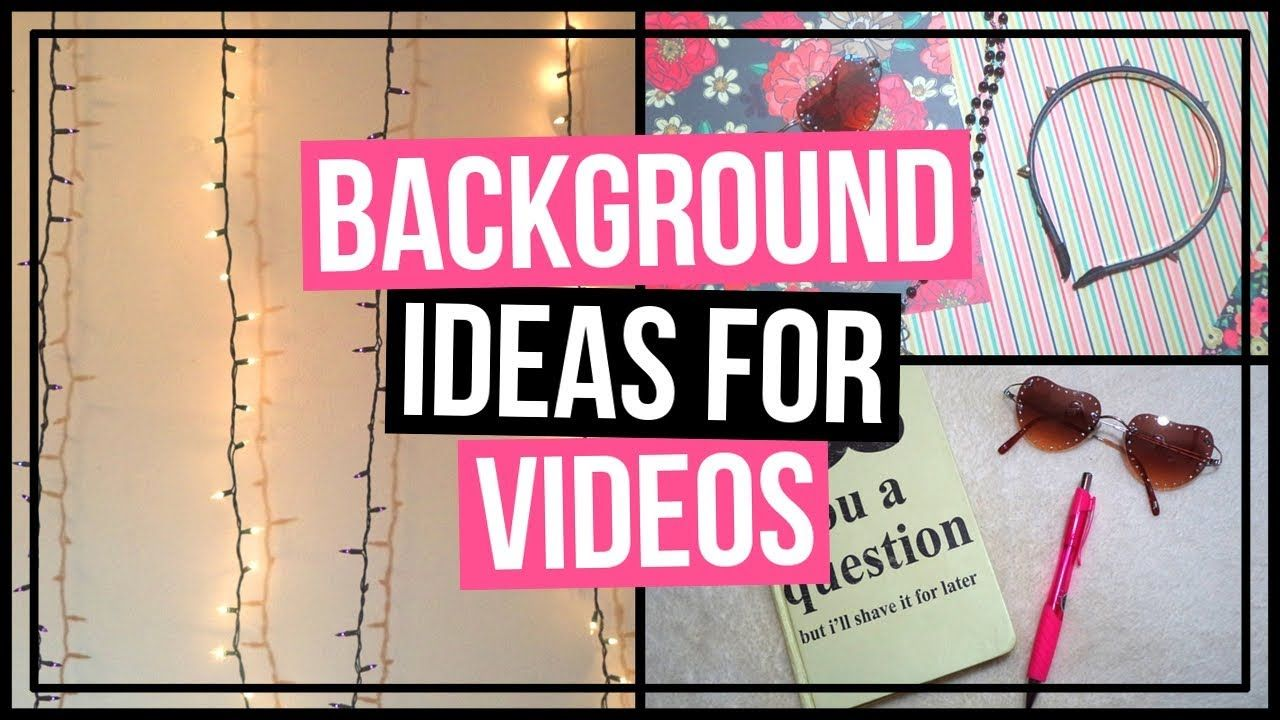 6 Background Backdrop Ideas For Youtube Videos Easy Backgrounds For Youtube Videos On A Budget In This Video Background Diy Youtube Backdrops Diy Youtube
