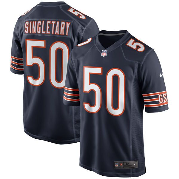 a26359ed Mike Singletary Chicago Bears Nike Throwback Retired Player Game Jersey -  Navy - $99.99