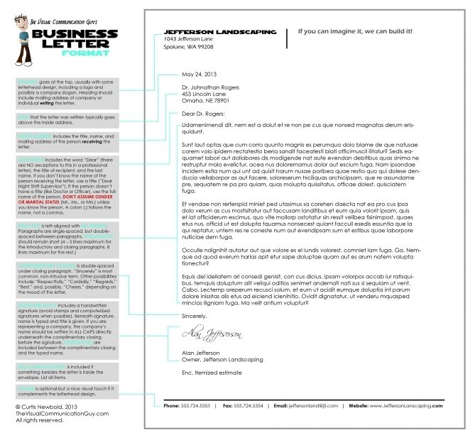 How to write a letter in business letter format the visual business how to write a letter in business letter format the visual business letter heading sample 3601 spiritdancerdesigns Gallery