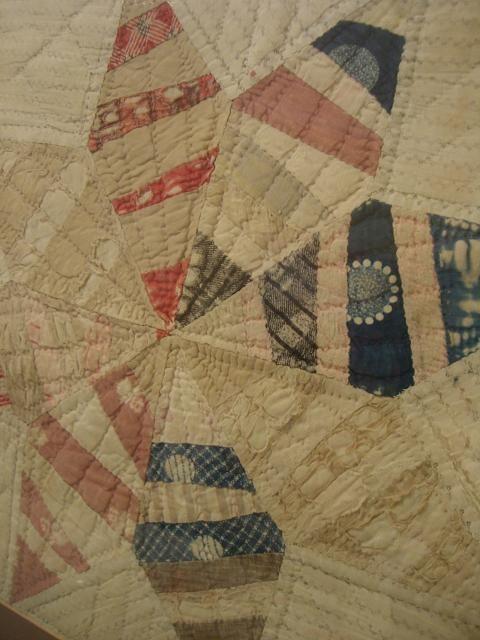 Vintage Scrap Star Quilt Block