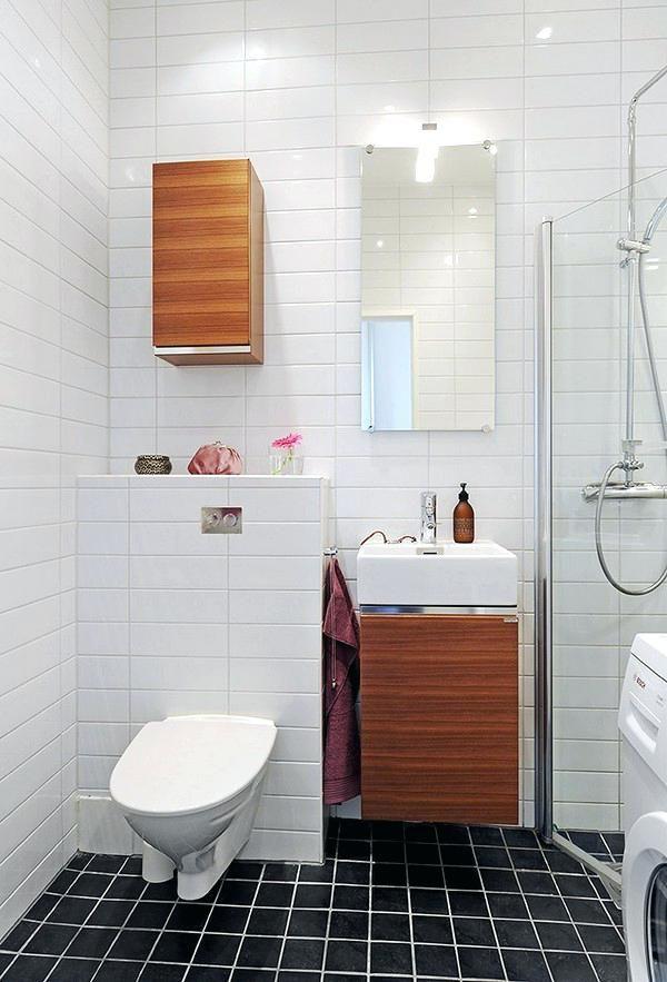 Badezimmer Ideen für Wohnungen Pinterest