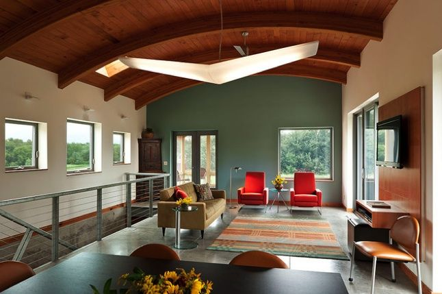interior paint color schemes open floor spaces and walls