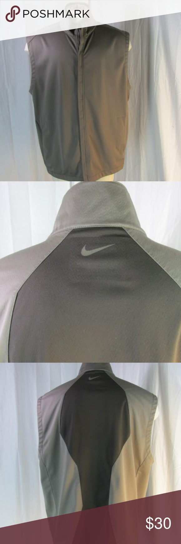 90216703b74e Nike Golf Sphere Pro Vest XXL Brown Water Nike Golf Sphere Pro vest. Full  zip