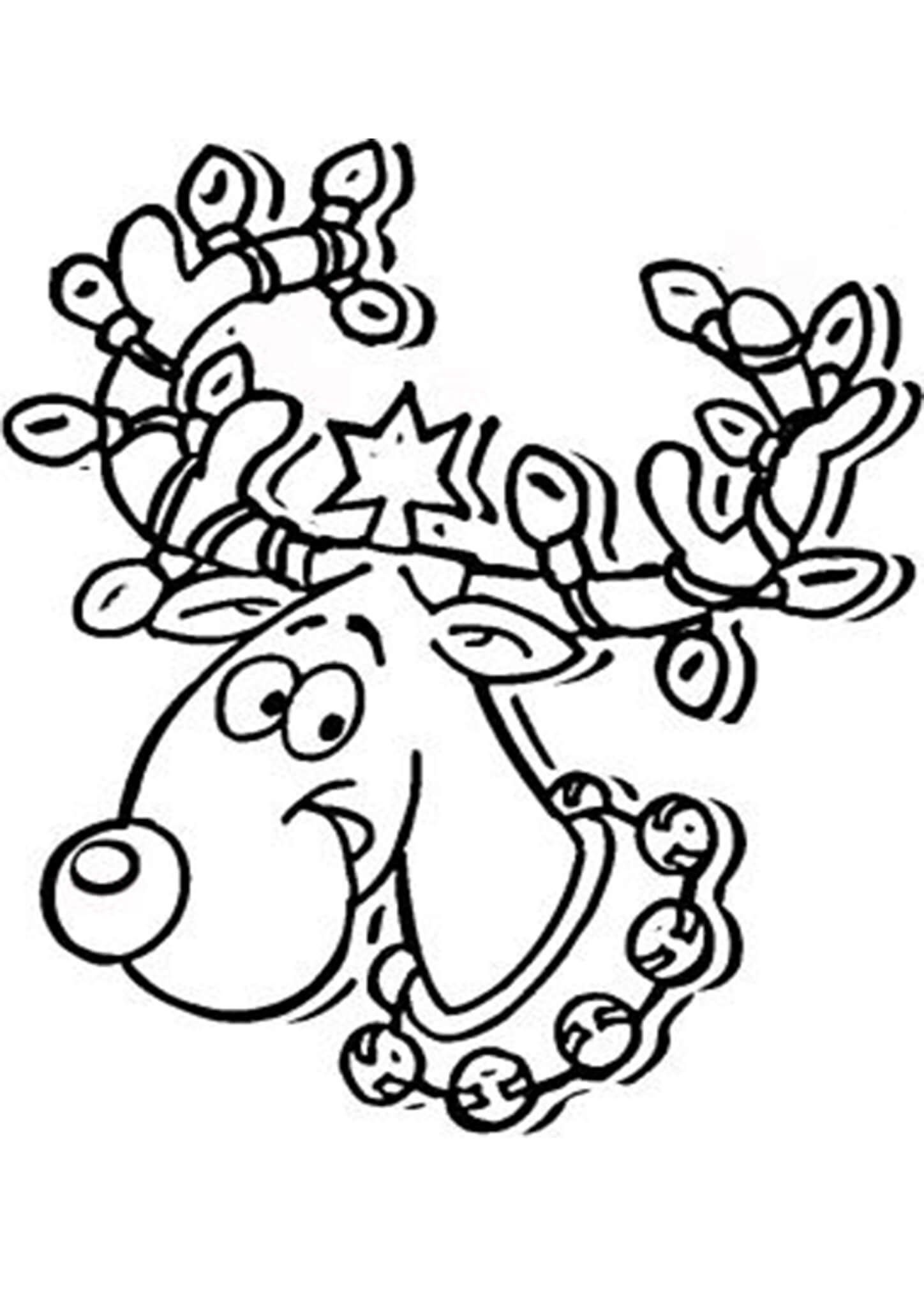 8214803f31f1193e54fbca1ac5f61cff » Christmas Coloring Pictures Reindeer