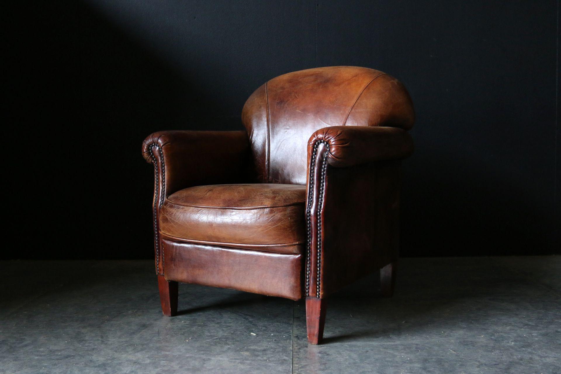 Bruine leren fauteuil meubels fauteuil leren en