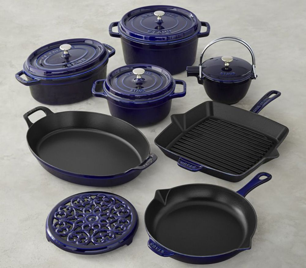 6 Cast Iron Cookware Sets That Will Last You A Lifetime Cast Iron Cookware Set Induction Cookware Cookware Set