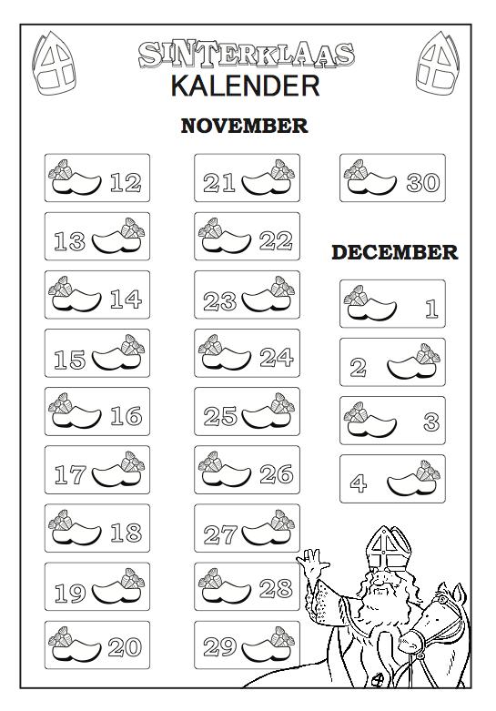 sinterklaas kalender zoeken sinterklaas