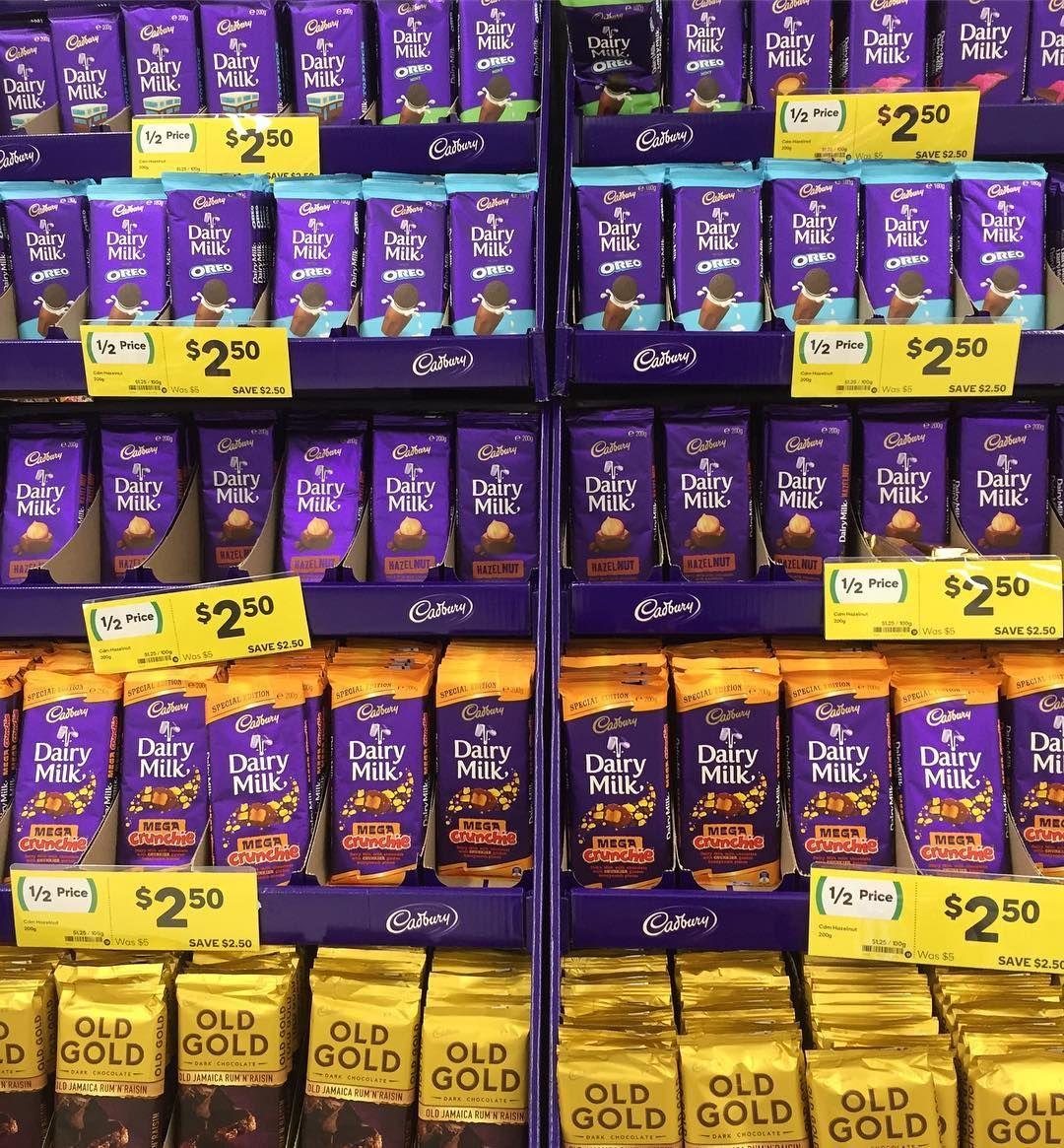 Cadbury Dairymilk Oldgold Chocolate Blocks Are Halfprice At Woolworths Mmmm Hazelnut Dairy Milk Chocolate I Love Chocolate Chocolate Milk
