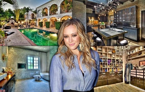 Hilary Duff - Inside celebrity homes - NY Daily News Closet ...