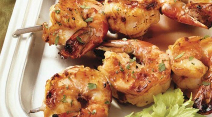 Sweet And Spicy Shrimp Kabobs Recipe Shrimp Kabobs Recipes