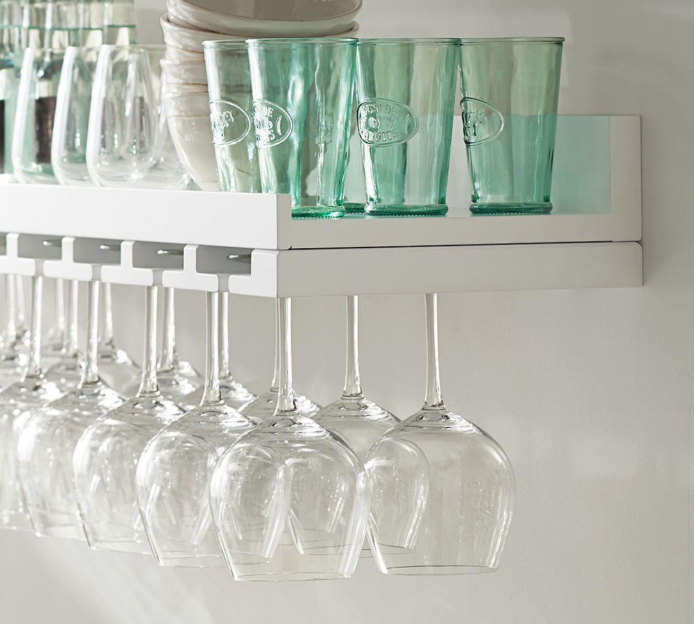 Holman repisa para vinos y copas deco home pinterest - Repisas de pared ...