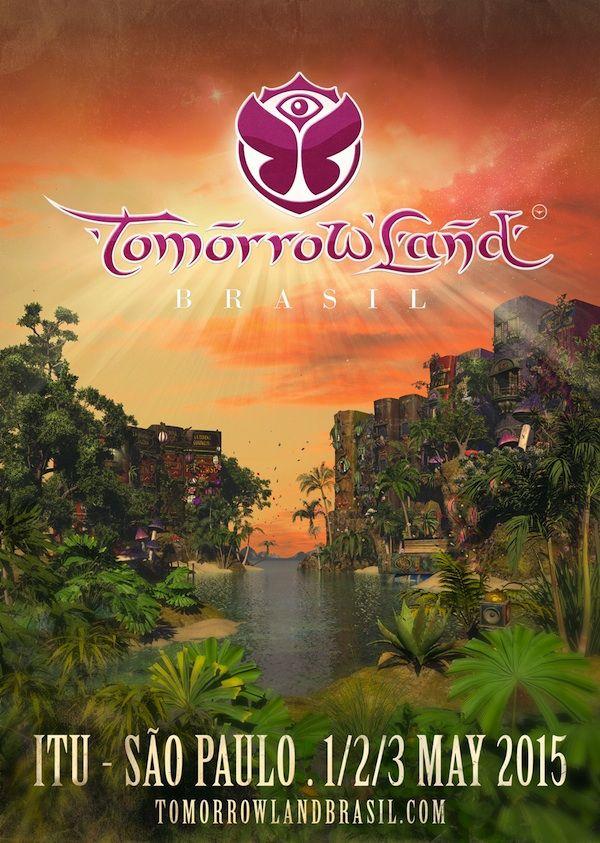 Tomorrowland Festival Poster 2015 Google Search C K