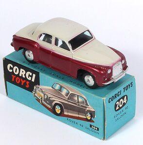 Corgi Toys #204 Rover 90 Saloon