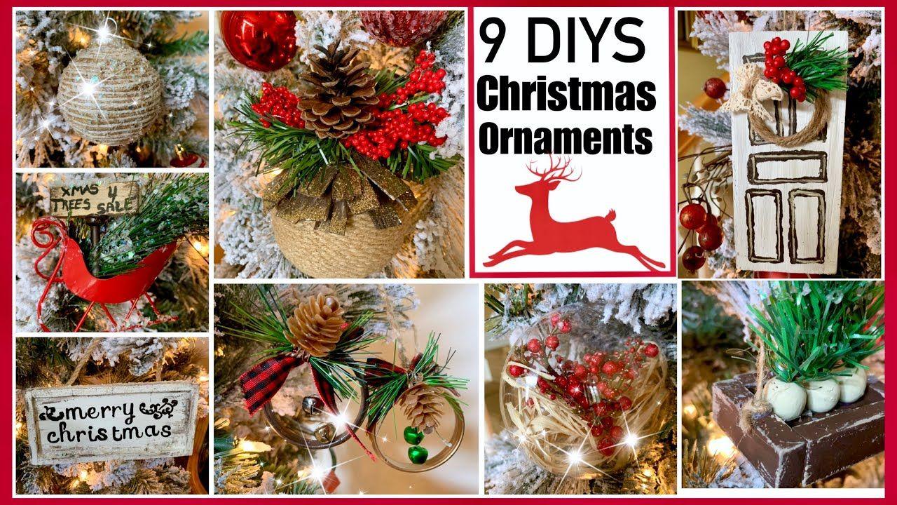 Dollar Tree Christmas Diy Ornaments Youtube Diy Christmas Ornaments Dollar Tree Christmas Blue Christmas Ornaments