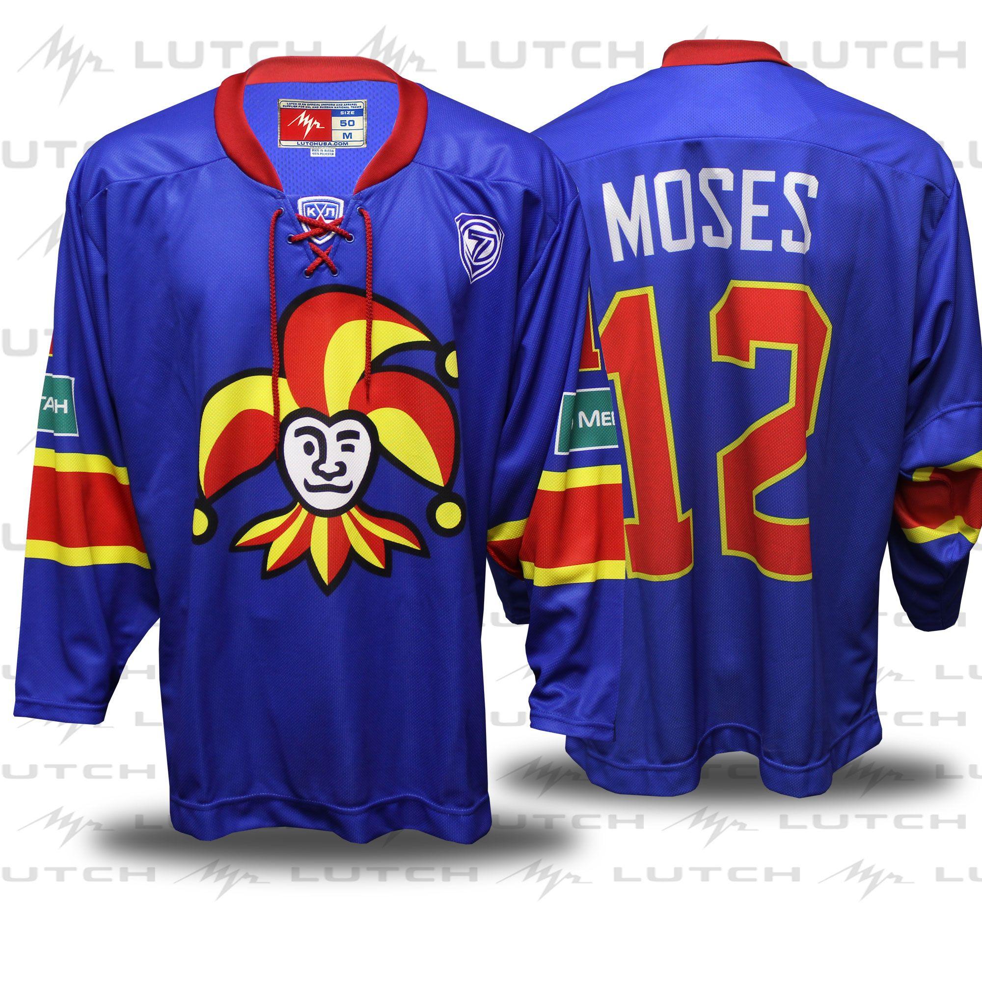 100%™ KHL Helsinki Jokerit. Steve Moses  ca4669780f7