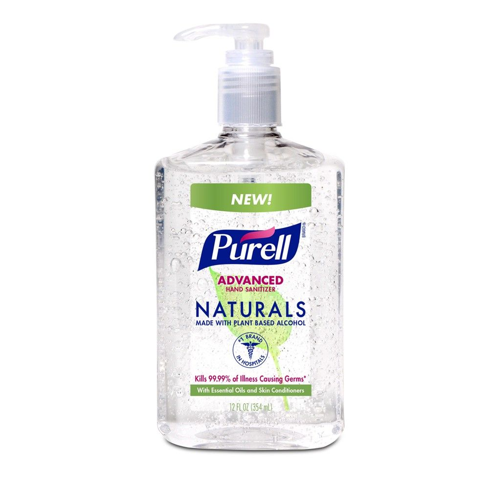 Amazon Com Purell Advanced Hand Sanitizer Refreshing Gel Design
