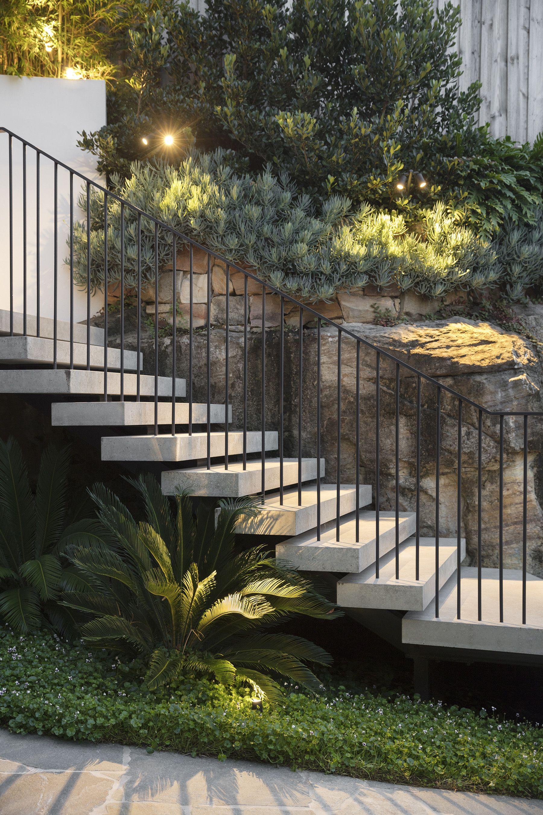 Amazing concrete steps   Wyer & Co. 17.01   Pinterest   Treppe