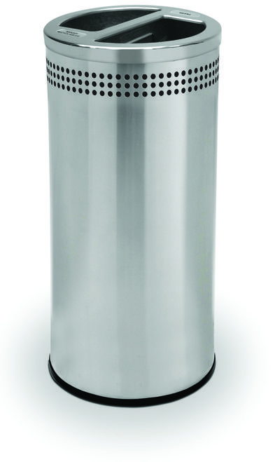 20 Gallon Stainless Steel Recycling Trash Can Garbage Can 745829 ...