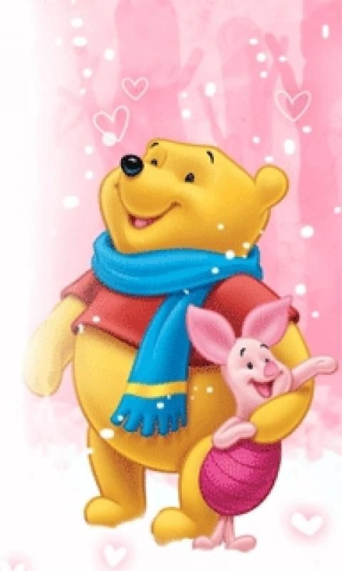 piglet pooh remember this winter wallpaper pooh bear. Black Bedroom Furniture Sets. Home Design Ideas